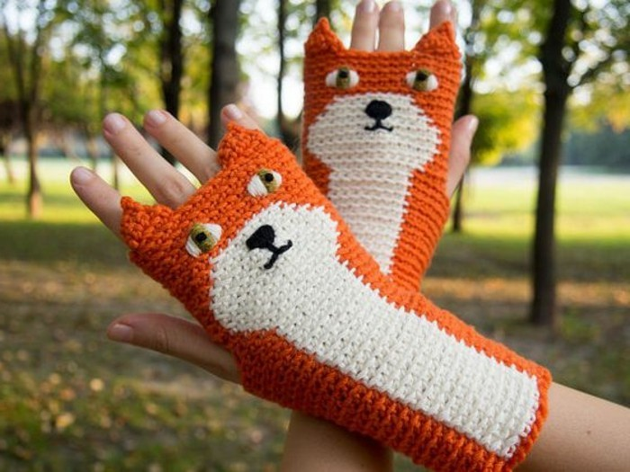 Ideas de regalos inusuales guantes-with-zorros