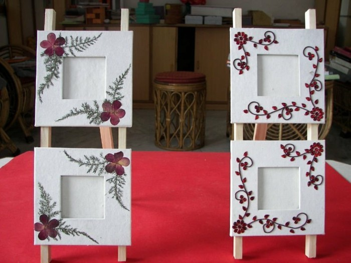 Picture Frame самата-калайджия-с орнаменти