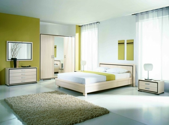 Feng shui bed-to-the-wall