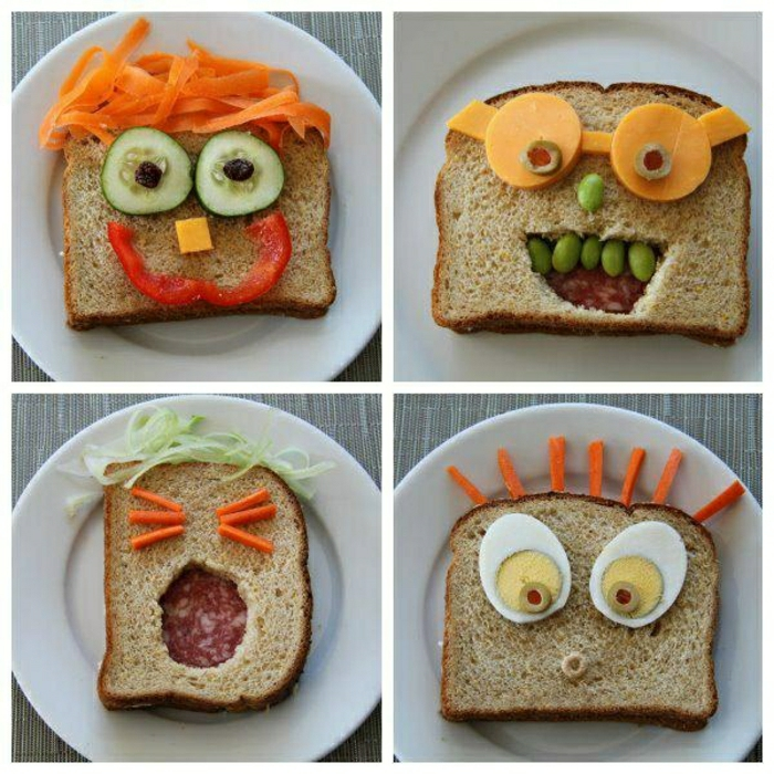 Sandwiches pitre enfants Birthday Party