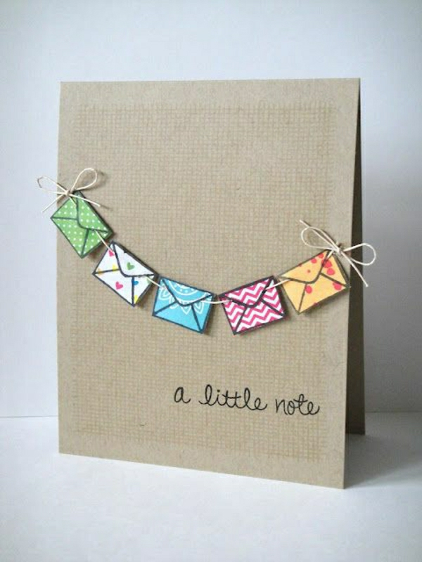 Tinker-con-papel-tarjeta en si-do-DIY-tarjetas-Tinker-beautiful-originales-Ideas-originales-diseño
