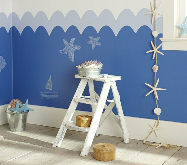 creative-maritime-decoration- design de mur magnifique