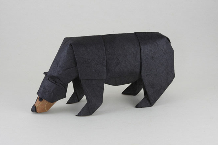 origami-animales-a-negro-oso