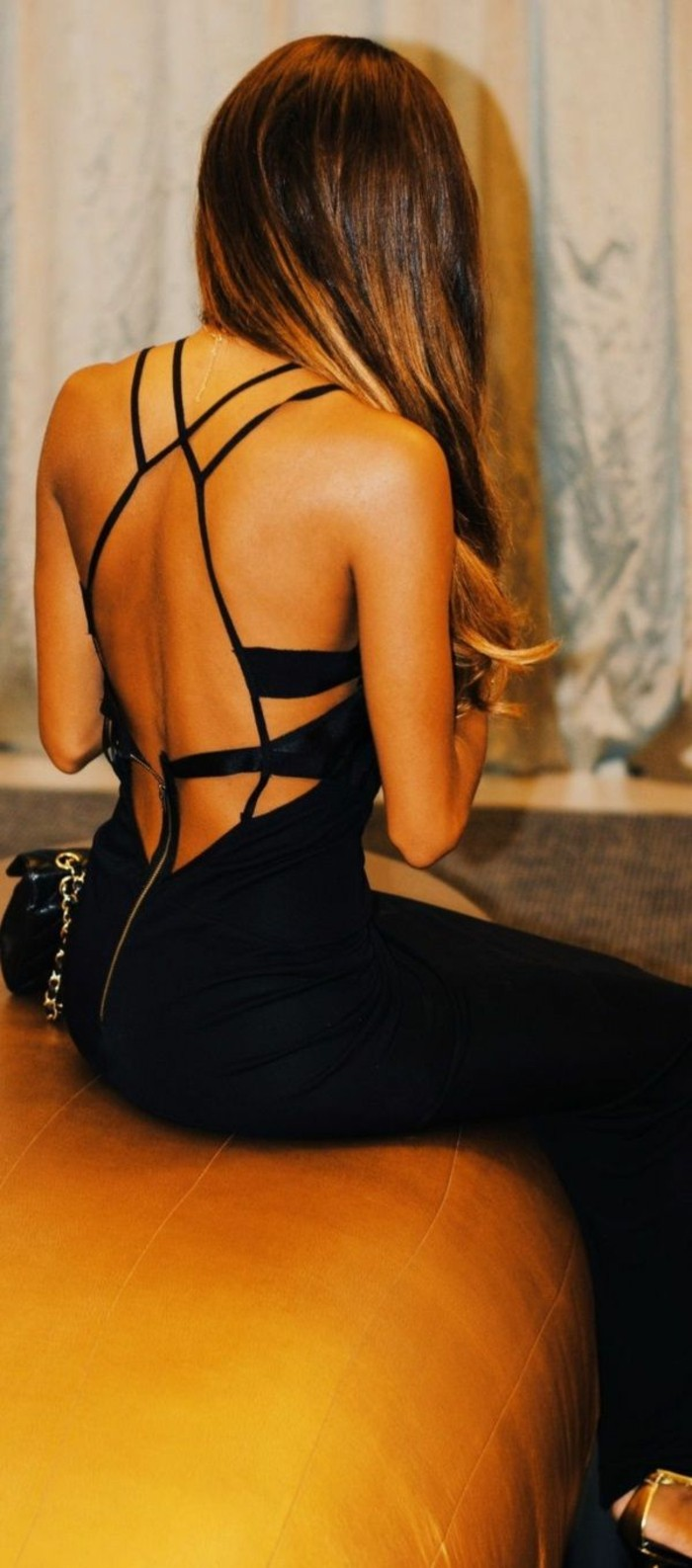 backless haljina - vrlo cool model
