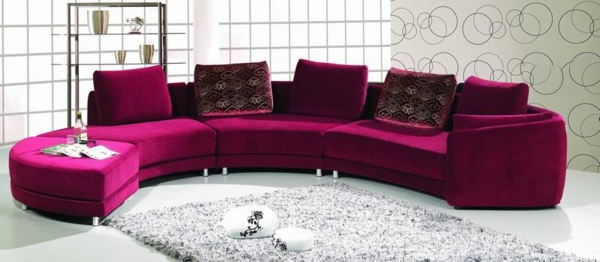 round-sofas-a-model-in-cyclamen-color-soft-carpet