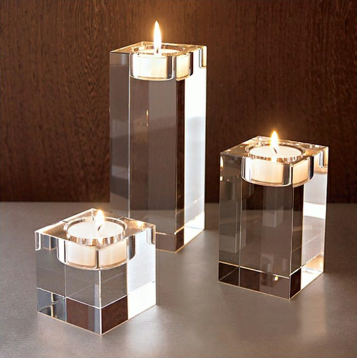 beautiful-velas-transparente-modelos de tres tees