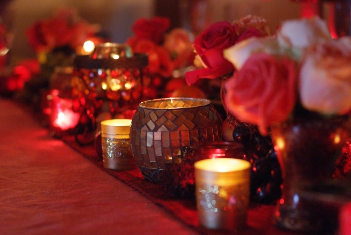 beautiful-velas-rojo-interesantes de color